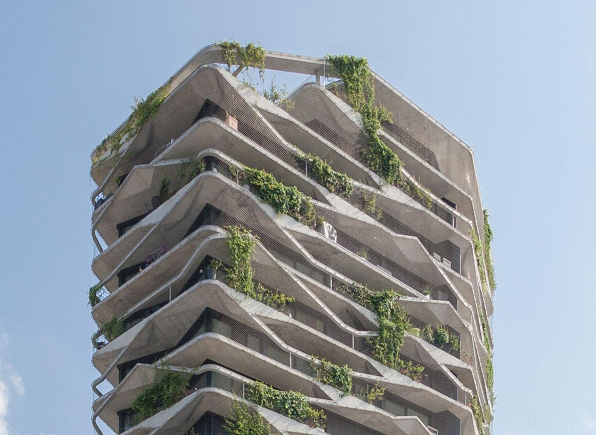 Modern Architecture - Garden Tower