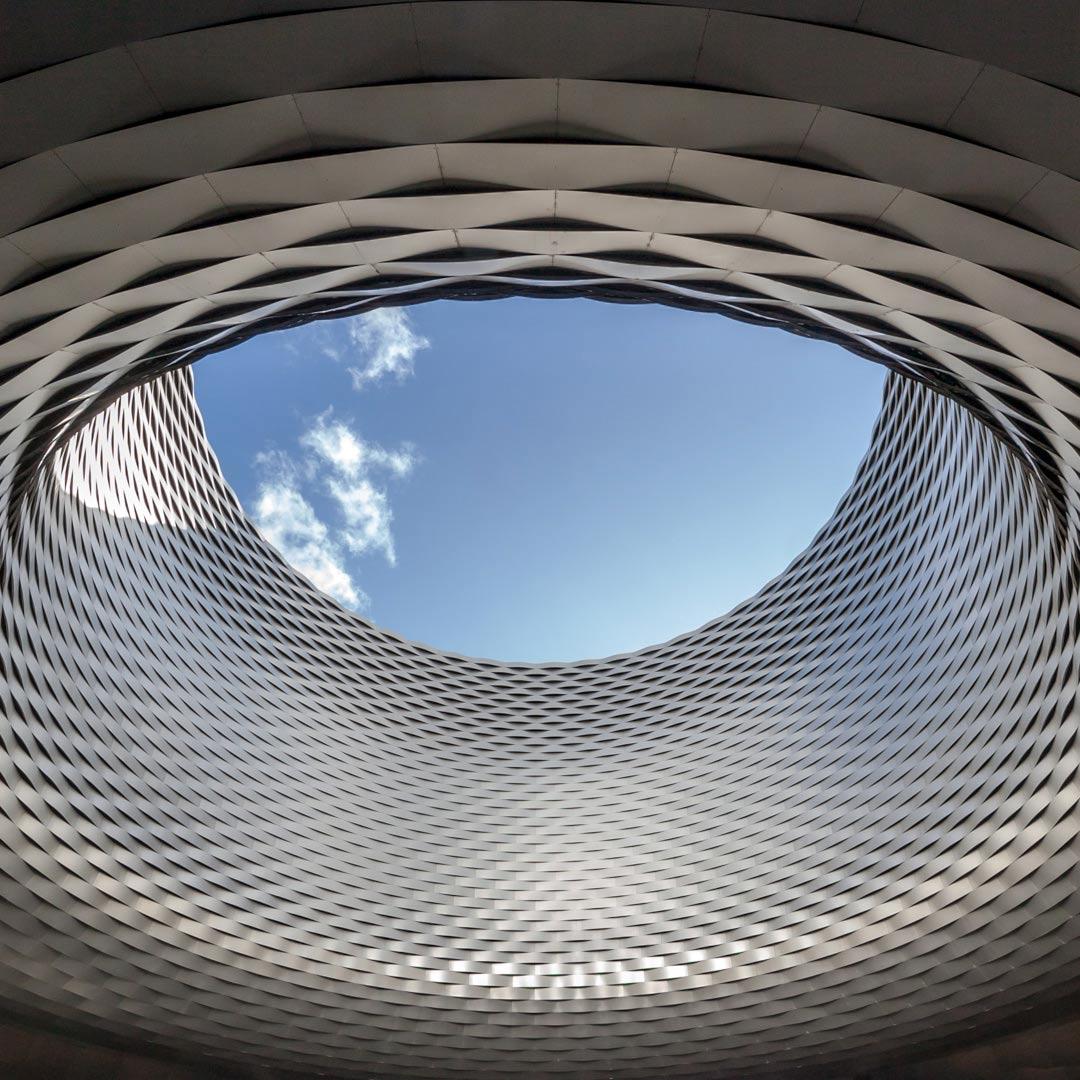 Modern Arcitecture Building in Basel, Switzerland