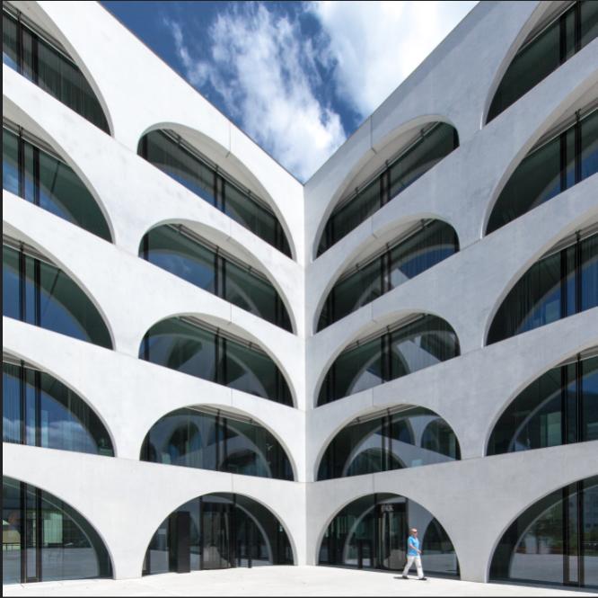 ÖKK Building in Landquart, Switzerland