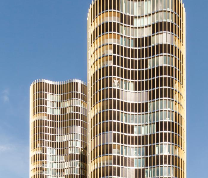 Hochzwei Building in Lucerne, Switzerland